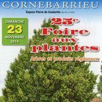 CORNEBARRIEU : 25ème FOIRE AUX PLANTES - ARBRES ET PRODUITS REGIONAUX