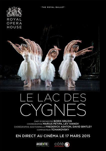 "CINEMA CGR : EN DIRECT DE LONDRES ""LE LAC DES CYGNES"""