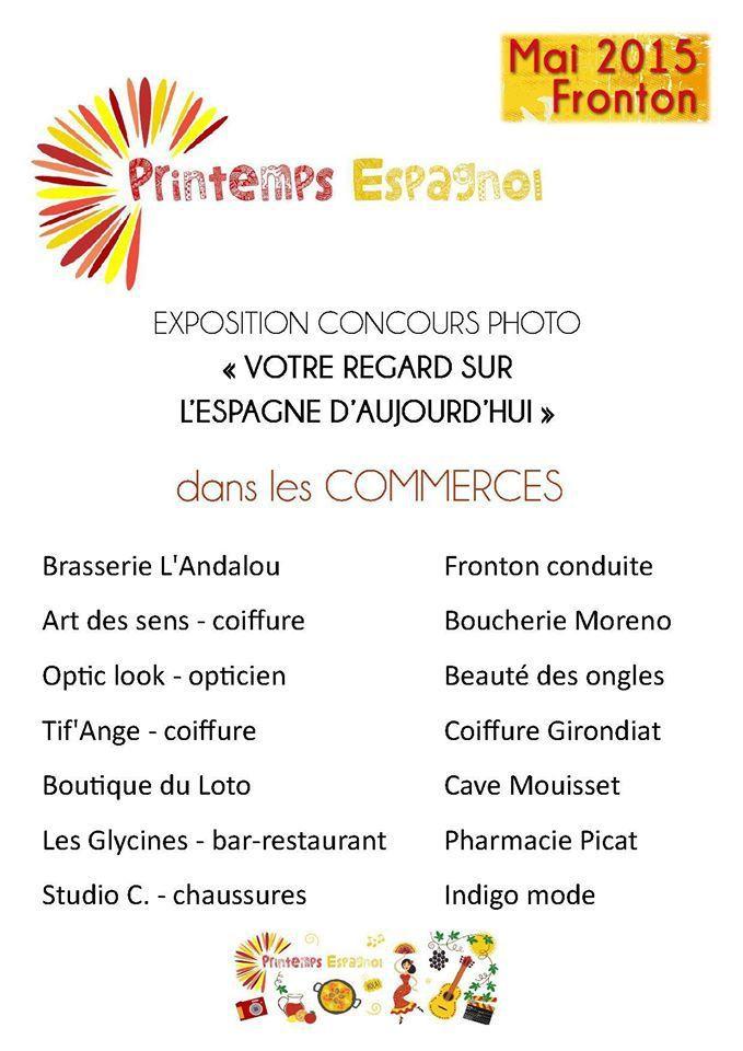 FRONTON : PRINTEMPS ESPAGNOL