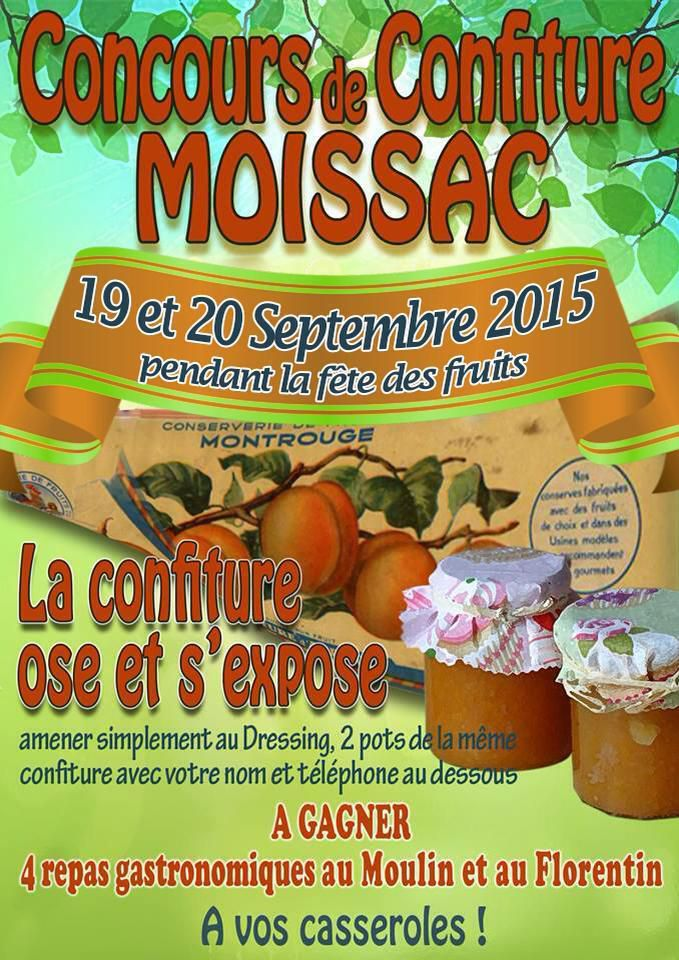 MOISSAC : FETE DES FRUITS 2015