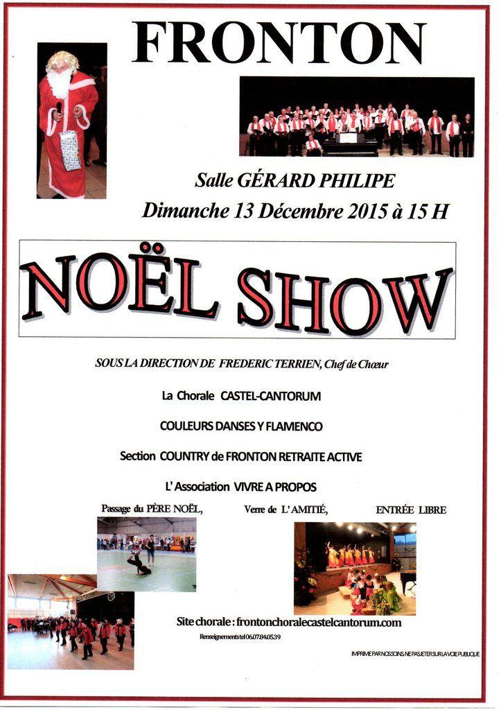 FRONTON : NOEL SHOW