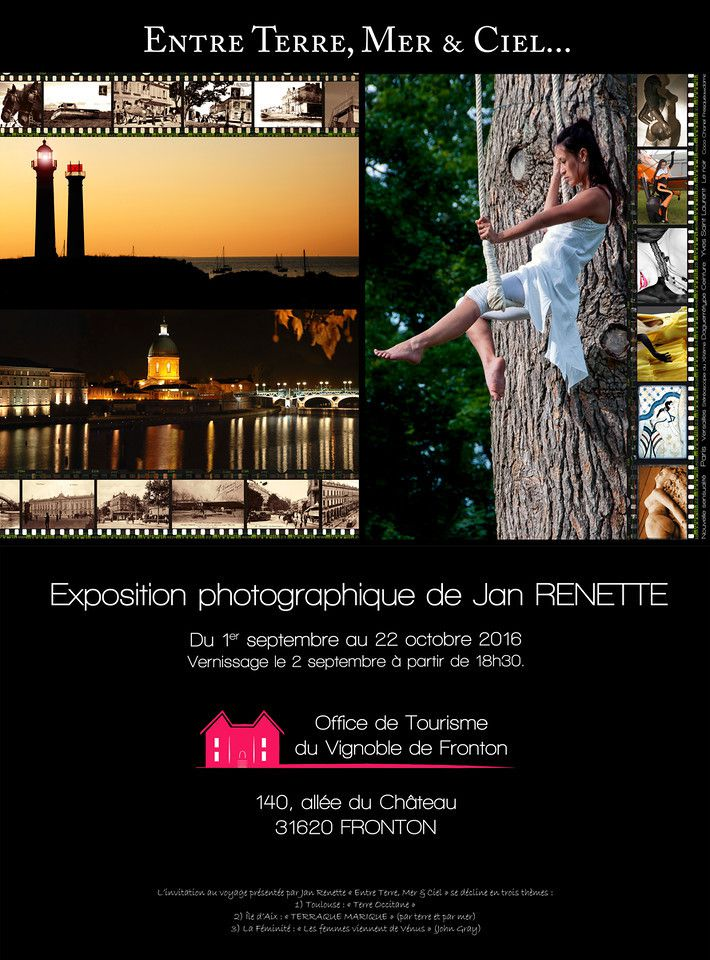 EXPOSITION JAN RENETTE A FRONTON