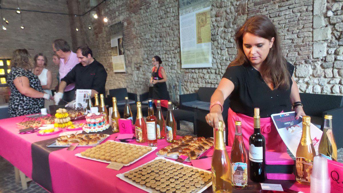 MOISSAC - CONFERENCE DE PRESSE DU SALON PATISSERIE &amp&#x3B; CHOCOLAT 2016 A L'OFFICE DE TOURISME