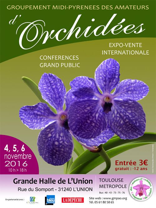 GROUPEMENT MIDI-PYRENEES DES AMATEURS D'ORCHIDEES A L'UNION