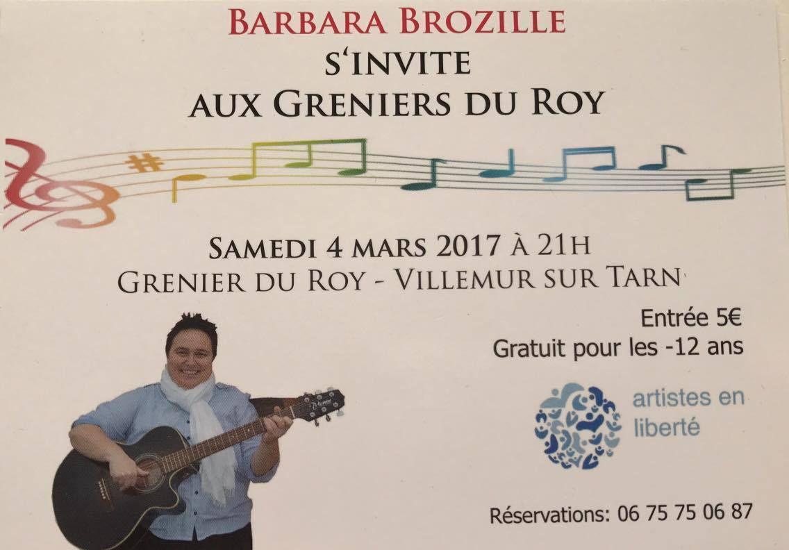 VILLEMUR SUR TARN - AUX GRENIERS DU ROY - BARBARA BROZILLE