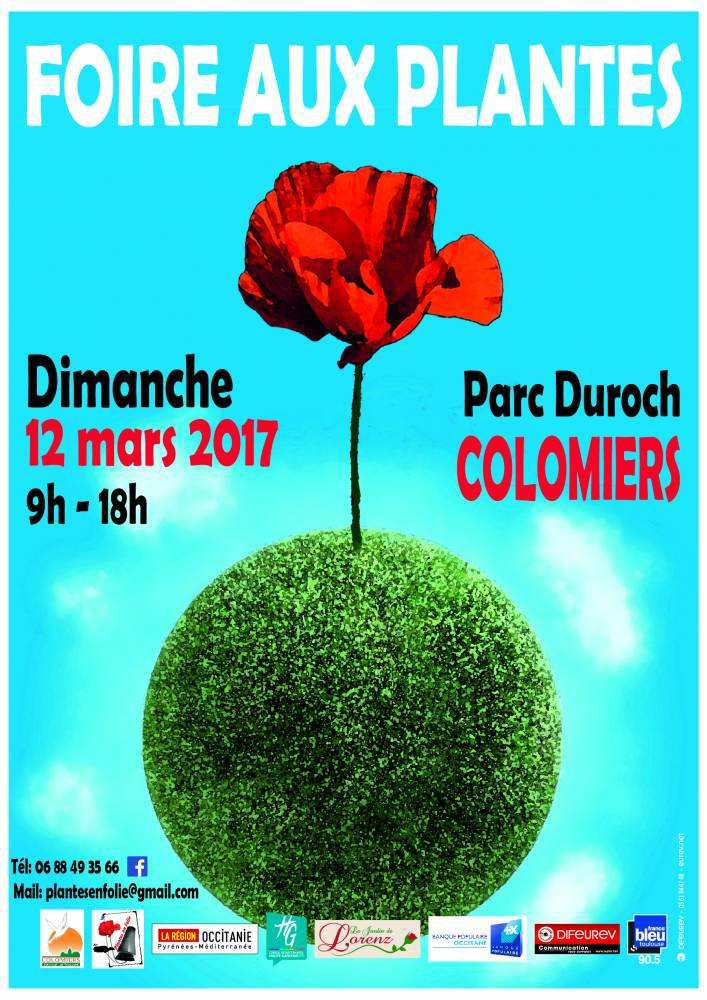 colomiers foire aux plantes dimanche 12 mars 2017 le blog de ma t infos. Black Bedroom Furniture Sets. Home Design Ideas