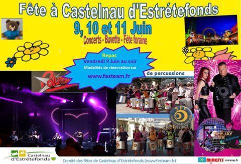 CASTELNAU D'ESTRETEFONDS - LA FÊTE AU VILLAGE