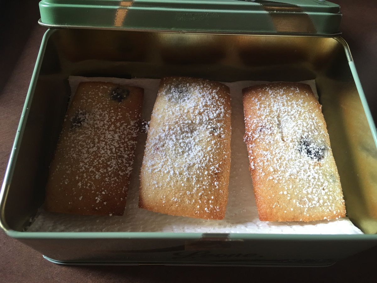 FINANCIERS AUX MURES