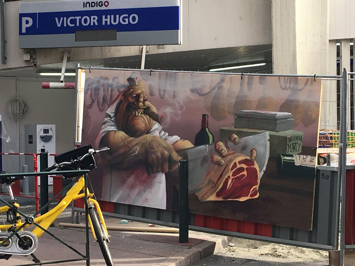 MARCHE VICTOR HUGO A TOULOUSE