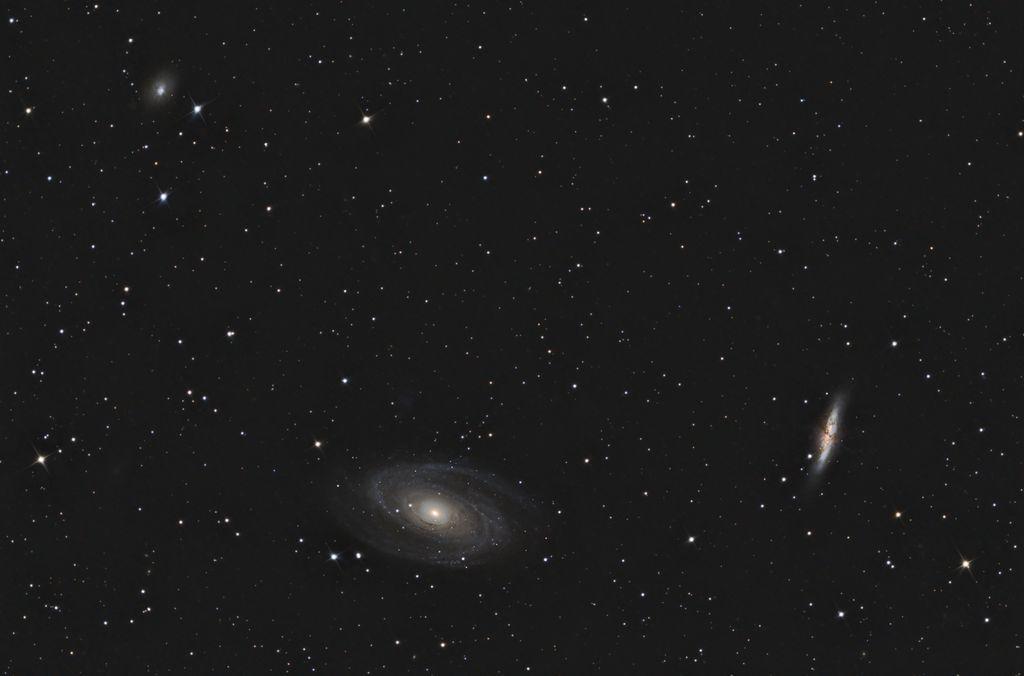 Deux Messier de la Grande Ourse