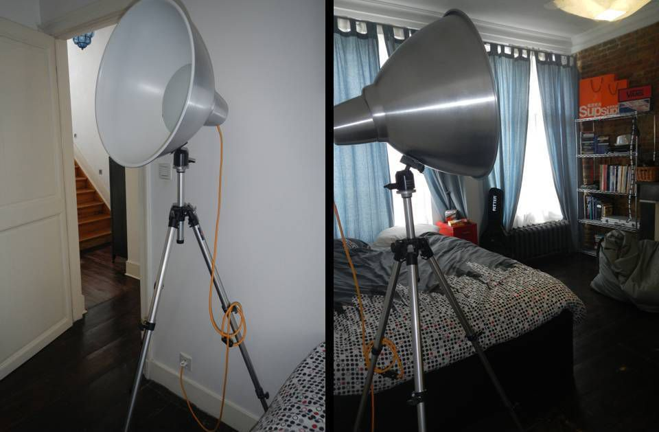DIY lampe photographe
