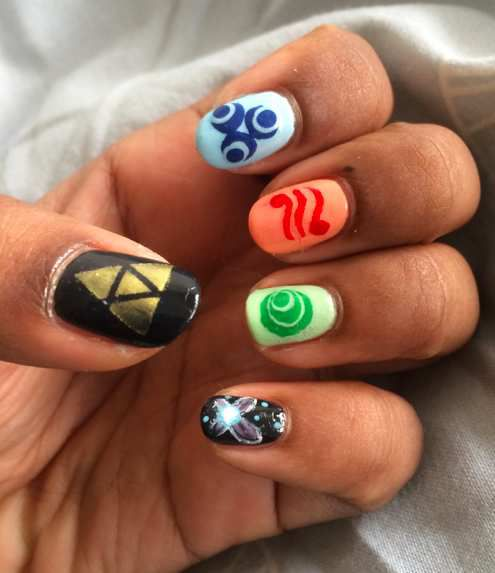 Nail Art 49 The Legend Of Zelda Symphony Desses