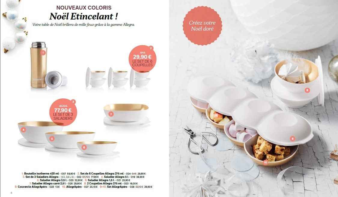 Catalogue de no l 2017 tupperware les tupp d 39 aur lie - Table de noel 2017 ...
