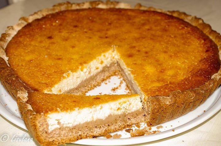 tarte au brocciu et cl 233 mentines confites les papilles sucr 233 es sal 233 es de lisulana