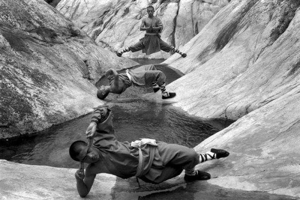 21 incroyables images de l'entraînement des moines de Shaolin