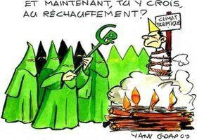 Propagande climatique : bientôt coupable de &quot&#x3B; crime contre l'Humanité &quot&#x3B; pour les récalcitrants du réchauffement ?