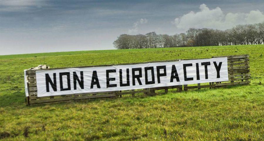 Des terres parmi les plus fertiles de France menacées par &quot&#x3B; EuropaCity &quot&#x3B;, un projet d'urbanisation 100% béton