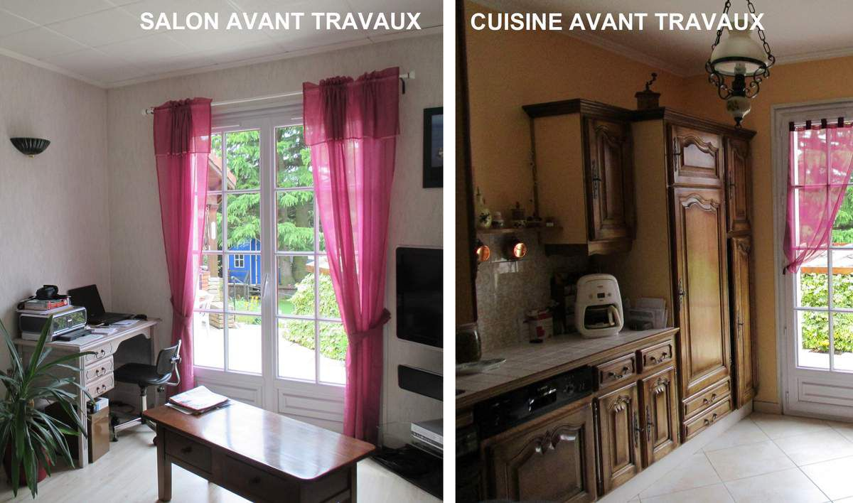 Am nagement d 39 une cuisine de 21m2 architecte d 39 int rieur for Cuisine salon