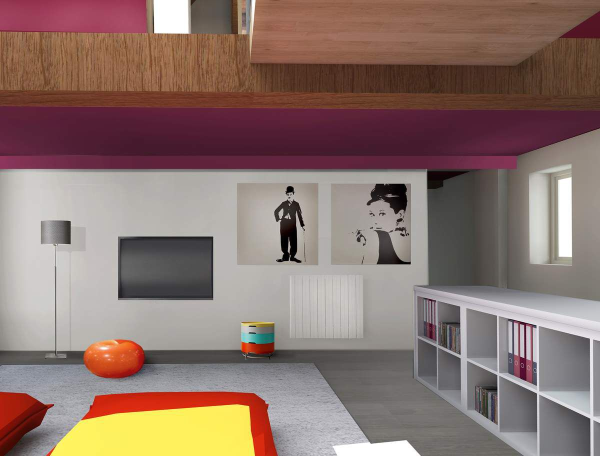 avant apr s un mur de salon d cor architecte d 39 int rieur ard che. Black Bedroom Furniture Sets. Home Design Ideas
