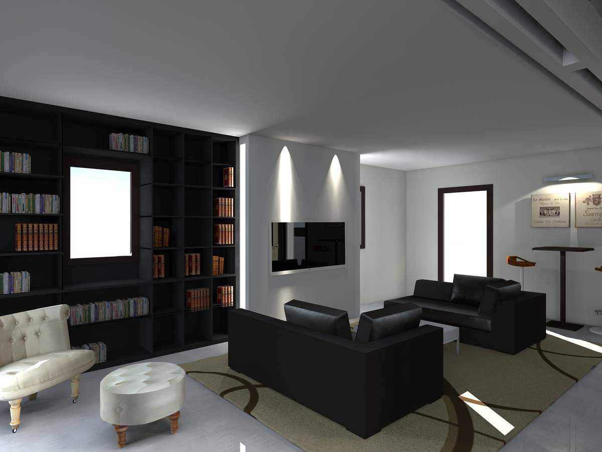 agencement d 39 un appartement de 200m2 architecte d 39 int rieur ard che. Black Bedroom Furniture Sets. Home Design Ideas