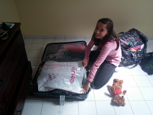 Les valises sont prêtes ����
