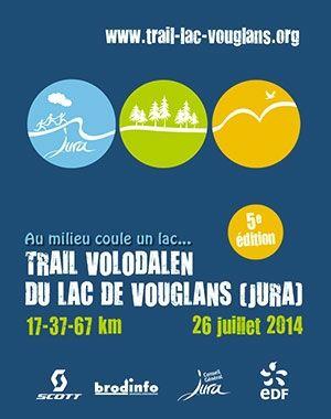 Trail Volodalen du Lac de Vouglans: victoire sur le 37kms