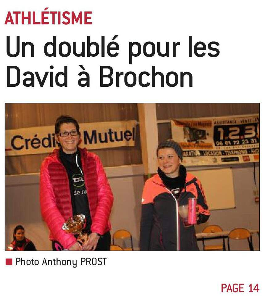 Night & Run de Brochon: double victoire en famille!