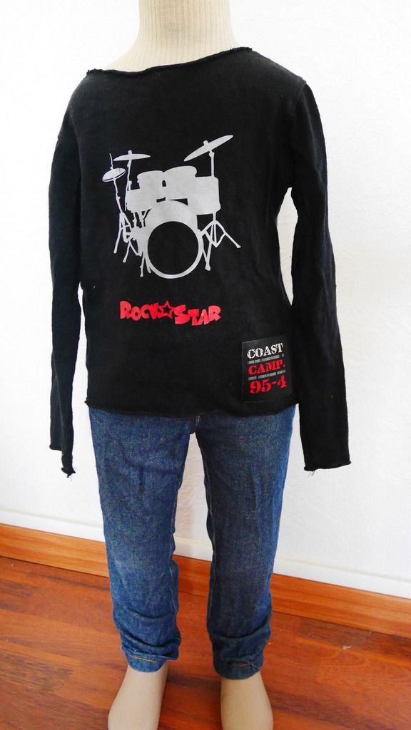 jean et t shirt rock star