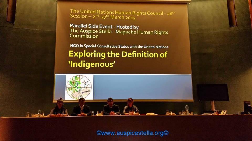 Les &quot&#x3B;peuples indigènes&quot&#x3B; en débat à Genève.