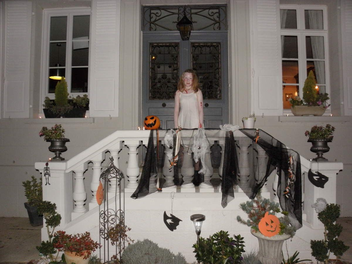Halloween à l'Hortensia Blanc
