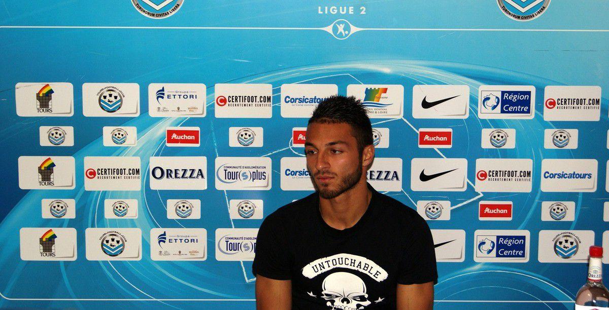 Haris Belkebla : «Tours, le club qui m'a lancé»