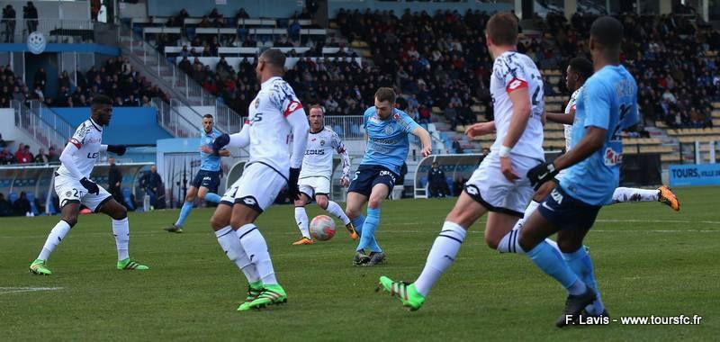 Tours FC - FC Sochaux : 1-0 (29e journée)