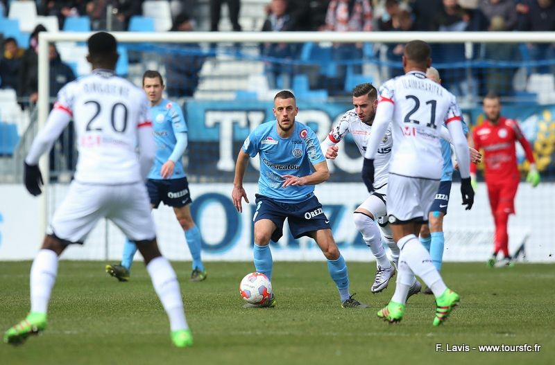 Le Havre - Tours FC : 2-0 (31e journée)
