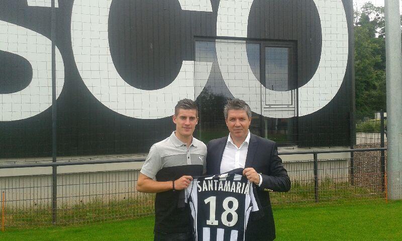 Officiel : Baptiste Santamaria à Angers