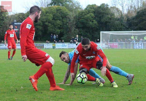 Saumur - Tours FC, les buts vidéo