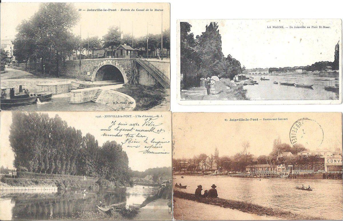 Joinville le pont.  Début XX ème siècle- DR