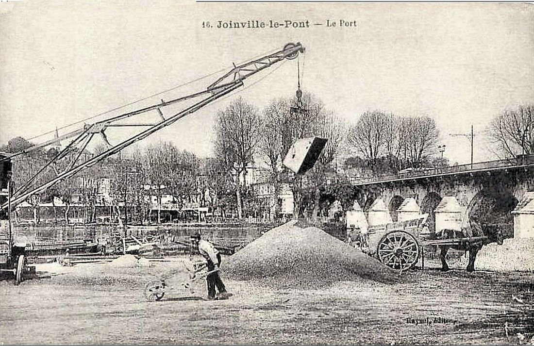 Bords de Marne à la Belle Epoque - Joinville le pont au début du XX ème siécle - Collection Jean-Claude Baquiast - DR