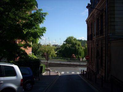 Rue de l'Eglise. Joinville le pont en 2007. Photo de © Eric Dubois