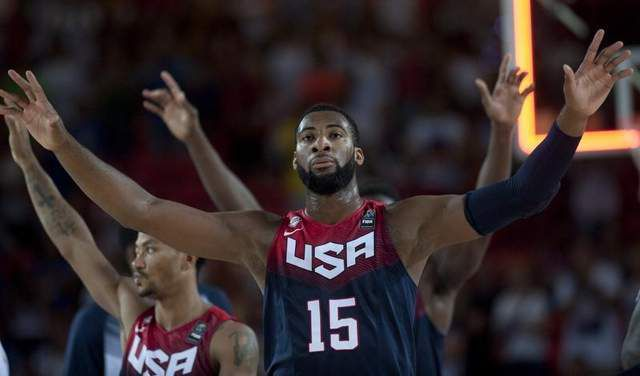 Drummond-Game 8: USA vs Lituanie