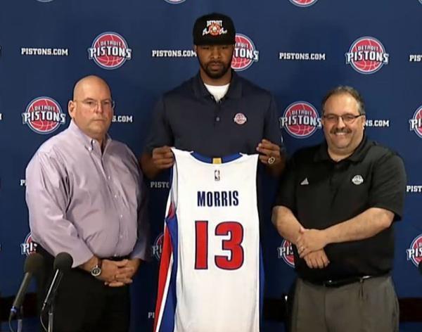 Marcus Morris : &quot&#x3B;Oublions Phoenix, je suis à Detroit et je suis prêt&quot&#x3B;