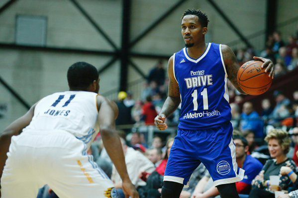 After-Game : Brandon Jennings : Grand Rapids Drive vs Iowa Energy en D-League