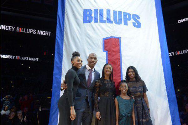 Vidéo : La cérémonie en l'honneur de Chauncey Billups