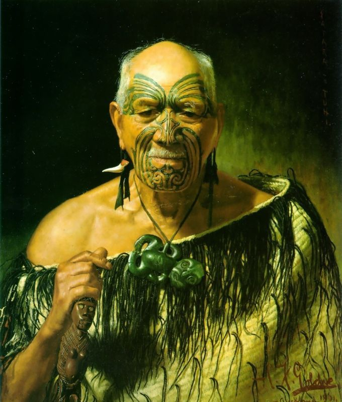Charles Frederick Goldie And His Controversial Maori Portraits