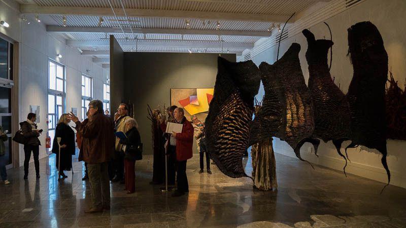 Vue de l'exposition le jour de l'inauguration
