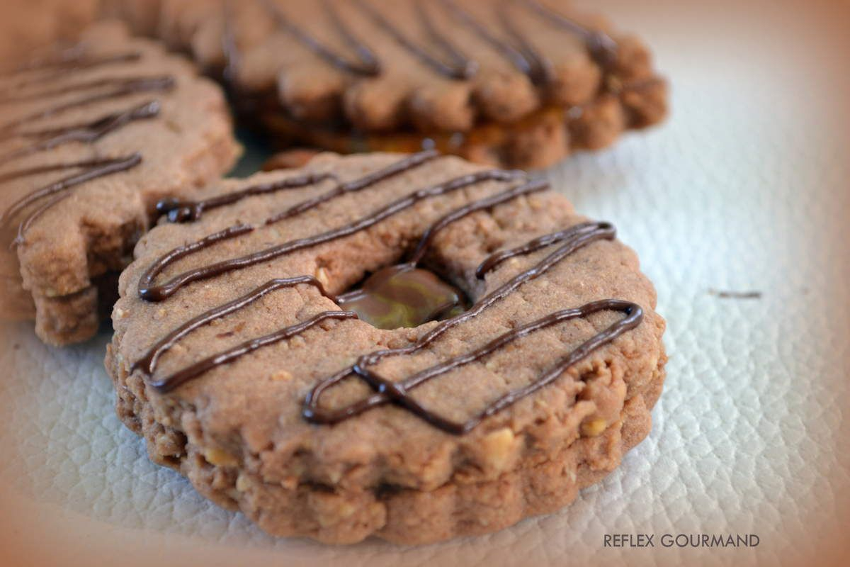 Biscuits choco/noisettes