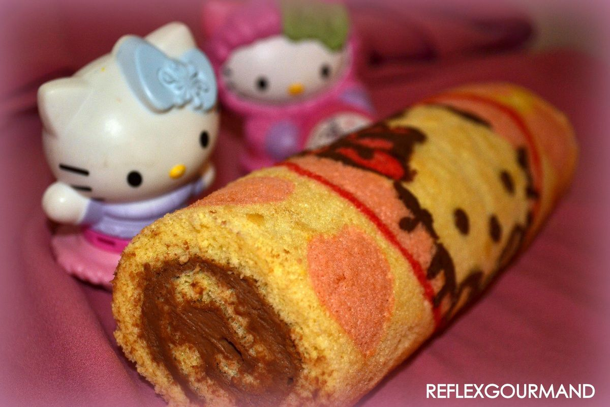 Swiss Rolls Hello Kitty