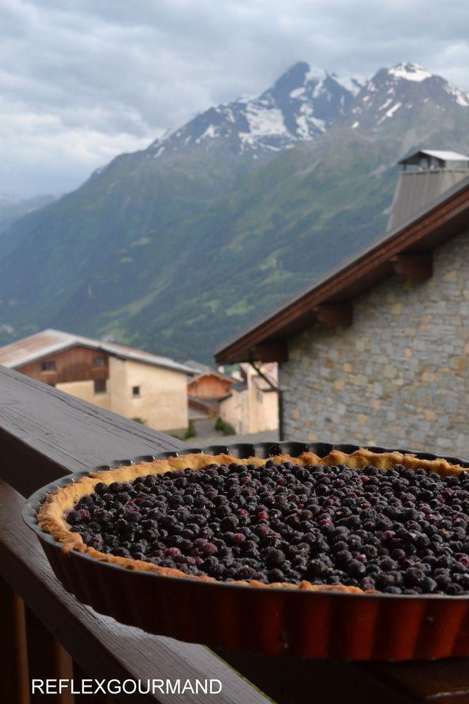 Tarte aux myrtilles de Savoie