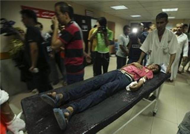 Dimanche 13 juillet 2014: Sixième jour de l'offensive militaire israélienne sur la bande de Gaza