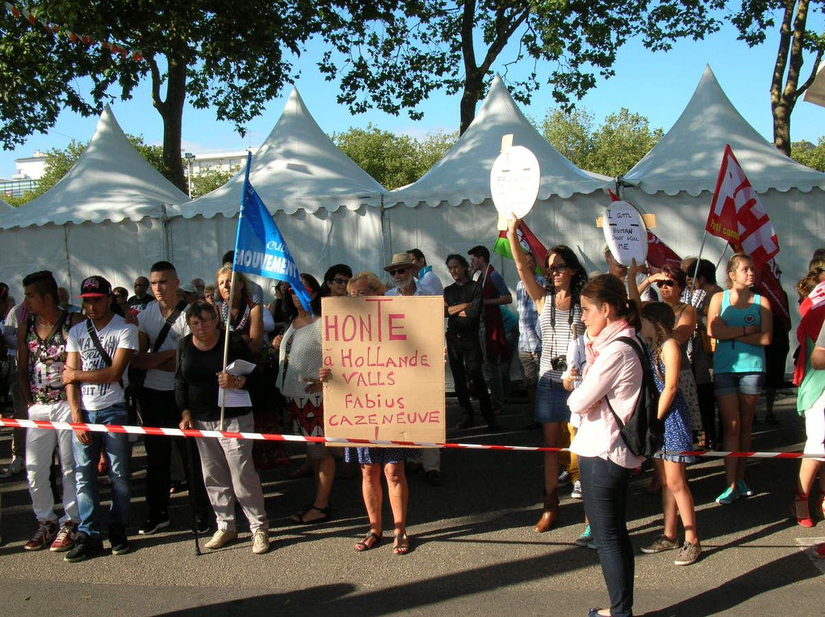 Serrurier Lorient intérieur lorient: manifestation de soutien à la palestine hier soir. - le