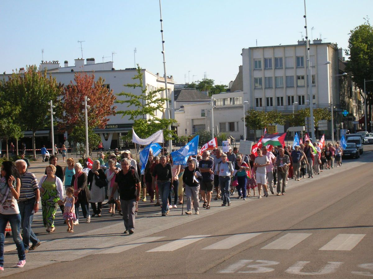 Serrurier Lorient concernant lorient: manifestation de soutien à la palestine hier soir. - le